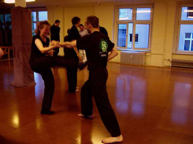 Kampfsport: Selbstverteidigung am Partner